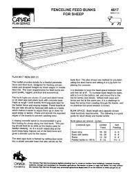 Fenceline Feed Bunks For Sheep Imperial Canada Plan Service