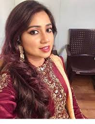 indian outfit and nice makeup