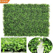 Artiflr 2pack Artificial Boxwood Hedge Panels Uv Protected Faux Greenery Fence Panels Mats For Privacy Fence Patio Greenery Walls Indoor Outdoor Decor 16 L X 24 W Panels Green 1 Buy Products Online With Ubuy