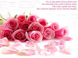 nice love quotes flowers