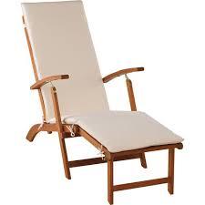 argos home wooden sun lounger with