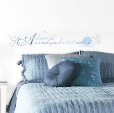 Cinderella Quote A Dream Is A Wish Your Heart Makes Wall Sticker 13 Decal Disney For Sale Online