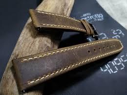 retro brown watch strap 20mm 21mm 22mm