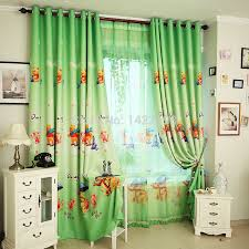 Popular Winnie The Pooh Boys Curtains For Kids Green Blockout Curtains For Living Room Blue Curtains For Windows Free Shipping Curtains Made In China Curtain Pipescurtains Black Aliexpress