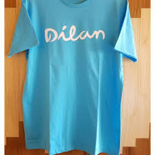 kaos tshirt custom dilan milea tumblr oneck cotton combed sablon