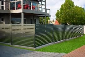 stratco ezi slat aluminium fencing