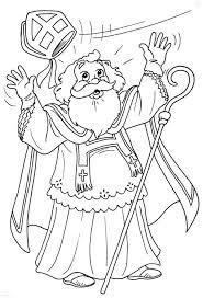 1001 Kleurplaten Sinterklaas Sint De Mijter Van Sint Beste