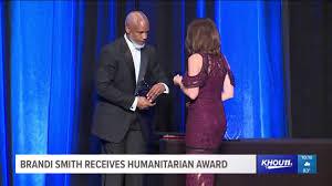 KHOU 11 News reporter Brandi Smith receives humanitarian award ...