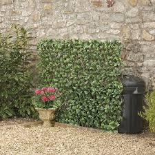 Expandable Artificial Hedge Trellis Evergreen Laurel 1 X 2m Garden Gear