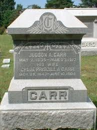 Chloe Priscilla Ballard Carr (1843-1904) - Find A Grave Memorial