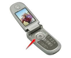 Hard Reset for Motorola V290