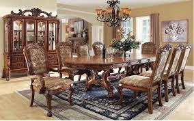 932344 Gela Oak Dining Set Von Furniture Free Shipping