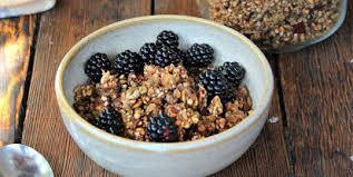 sprouted buckwheat granola mealgarden