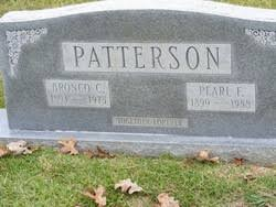 Pearl Mae Fowler Patterson (1899-1988) - Find A Grave Memorial