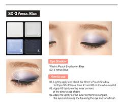 pouch shadow for eyes sd 3 venus blue
