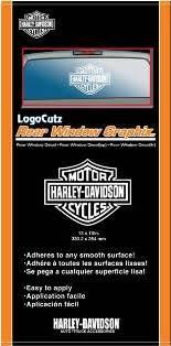 4311 Chroma Graphics Window Graphics Harley Davidson Logo