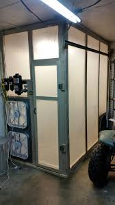 diy garage size paint booth k2forums