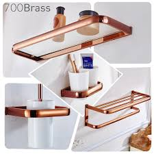 bathroom accessories brass wall mounted