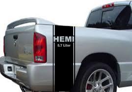 Product 2 Hemi 5 7 Liter Stripe Dodge Ram Truck Vinyl Decal Sticker
