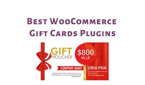 best woomerce gift cards plugins