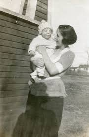 Iva Baker and child (wife of Lyle Baker) | Beautiful children ...