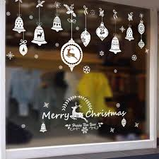 Fengrise Pvc Merry Christmas Window Stickers Decorative Wall Stickers For Kids Room Mirror Wall Srickers Navidad Christmas Diy In Pendant Drop Ornaments From Home Garden Bluetooth Non