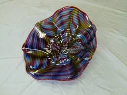 glass plates belle mead hot glass