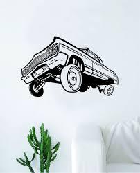 Hydraulics Car Decal Sticker Bedroom Living Room Wall Vinyl Art Home D Boop Decals