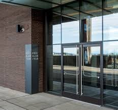 specifying glass entrances in the new