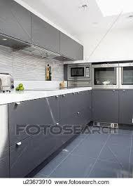 grey ceramic floor tiles in modern
