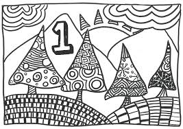 Anti Stress Kleurplaten Advent Kalender 1 December 5