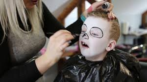 skull kids makeup easy by