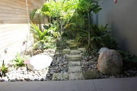 tiny gardens rocks stepping stones