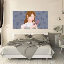 3d Creative Beautiful Girl Makeup Bedside Wall Sticker Personality Headboard Background Vinyl Decal Mural Home Decoration Bathroom Wall Decals Bathroom Wall Stickers From Fst1688 30 15 Dhgate Com