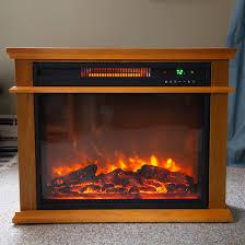 lifesmart infrared quartz fireplace