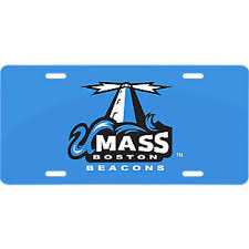 University Of Massachusetts Boston License Plate Frames Car Decals And Stickers