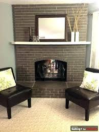 painting fireplace brick aishadesign co