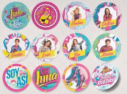 Los Amoooo Decoracion De Soy Luna Soy Luna Stickers Fiestas De