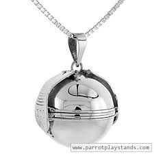 picture photo ball locket necklace
