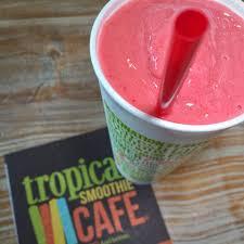 tropical smoothie watermelon mojito