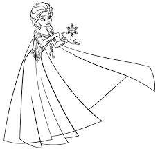Die Besten Von Ausmalbild Elsa Eisschloss Kostenlos Frozen
