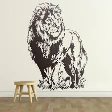 Wall Decal Lion Muraldecal Com