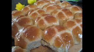 Homemade Hot cross buns ...