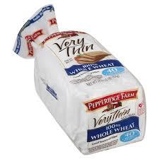 very thin 100 whole wheat bread