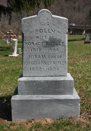 Polly Ferry Butler (1818-1894) - Find A Grave Memorial