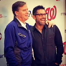 Our great broadcasters, Bob Carpenter (Carp) and F. P. Santangelo (FP) |  Washington nationals, America's favorite pastime, Nationals park