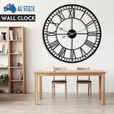 large outdoor garden wall clock roman