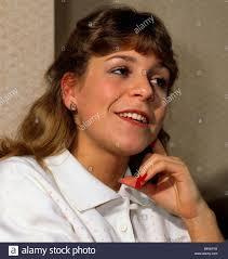 Wendy Walker Coronation Street actress February 1986 Stock Photo - Alamy
