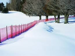 Phoenix Fence Products Snow Safety Barrier Fence
