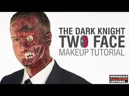 two face harvey dent makeup tutorial